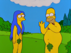 Simpsons Bible Stories adam eve.png