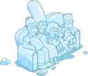 Tapped Out Ice Sculpture Couch Gag Scene.png