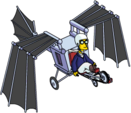 Tapped Out Professor Frink Ride Flying Machine.png