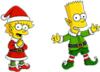 Elf Lisa and Elf Bart.png