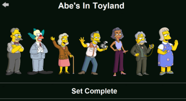 The Simpsons: Tapped Out characters/Abe's In Toyland