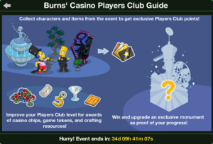 TSTO Burns' Casino Players Club Guide.png