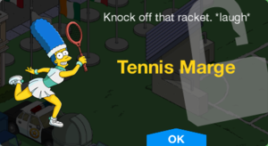 Tennis Marge Unlock.png