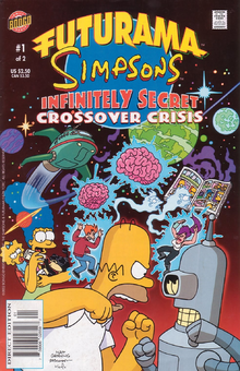Futurama Simpsons Infinitely Secret Crossover Crisis 1.png