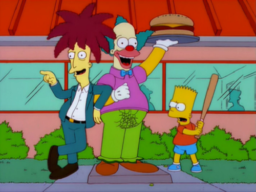 Krusty the Clown statue.png