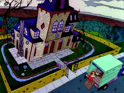 The Haunted House - Treehouse of Horror I.png