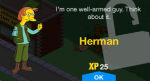 Tapped Out Herman New Character.png