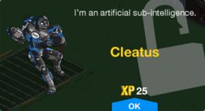 Cleatus Unlock.png