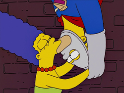 Pie Man Kissing Marge.png