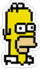 Tapped Out Pixel Homer Icon.png