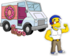 Truckload of 300 Donuts Muscular Milhouse.png