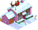 Tapped Out Christmas Purple House.png