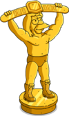Golden Wrestler Statue.png