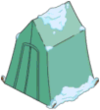 Tapped Out Camping Tent Snow covered.png