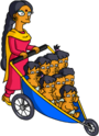 Tapped Out Manjula Look After the Octuplets.png