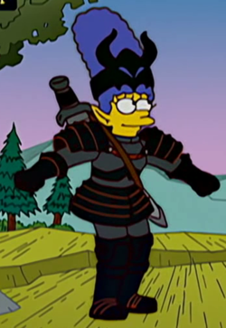Warrior Marge Wikisimpsons The Simpsons Wiki