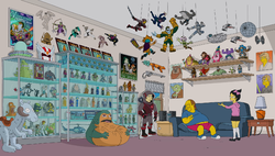 Comic Book Guy apartment.png