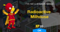 Radioactive Milhouse Unlock.png