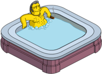 Tapped Out Fat Tony Relax in the Hot Tub.png