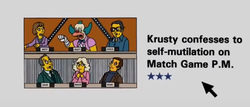 Krusty confesses to self-multilation on Match Game P.M..png