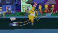Treehouse of Horror XXIV - Unnamed invisible man with Homer's pants 2.png