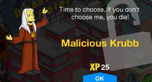 Malicious Krubb Unlock.png