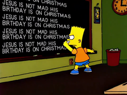 The Burns and the Bees Chalkboard gag.png