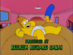 Redrum Richard Sakai - Treehouse of Horror VI.png