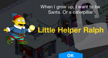 Tapped Out Little Helper Ralph unlock.png