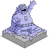 Tapped Out The Collector Lucite Statue.png