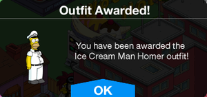 Ice Cream Man Homer Outfit Awarded.png