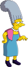 Jacqueline Bouvier - Wikisimpsons, the Simpsons Wiki