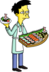 Tapped Out Akira Hand out Sushi Samples.png