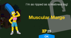 Muscular Marge Unlock.png