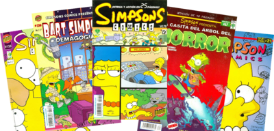Simpsons Comics Mexico 3 logo.png