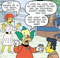 Lucy-Laugh Man on Earth.png
