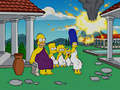 Homer and Lisa Exchange Cross Words Couch Gag.png