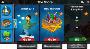 Tapped Out New Years Eve 2014 Store.png