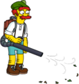 Tapped Out Groundskeeper Seamus Cleanup with Leafblower.png