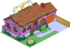 Tapped Out Christmas Van Houten Home melted.png