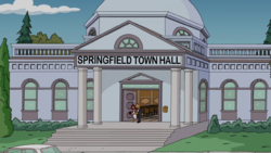 The First Appearence of City Hall