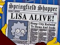 Springfield Shopper Lisa Alive!.png
