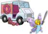 Truckload of 300 Donuts and Butterfly Maggie.png