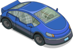 Tapped Out Blue Electric Car.png