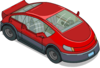 Tapped Out Red Electric Car.png