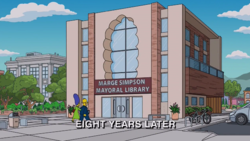 Marge Simpson Mayoral Library.png
