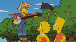 The Peach Song - Wikisimpsons, the Simpsons Wiki