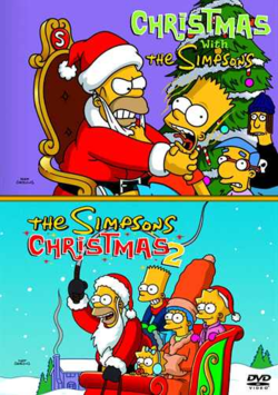 Christmas With The Simpsons & The Simpsons Christmas 2 ...