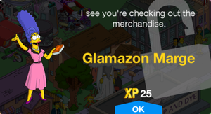 Glamazon Marge Unlock.png