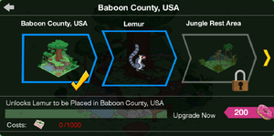 Baboon County, USA Crafting Screen.png